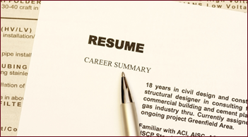 Building a Resume for an Insurance Career
